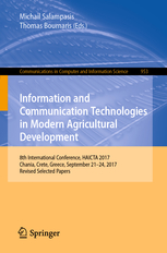 Edited Book, Information and Communication Technologies in Modern Agricultural Development